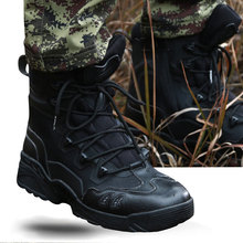 2018 Men's Tactical Military Boots Breathable Desert Combat Shoes Military Hiking Shoes Sneakers 39-45