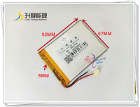 3 7V 8000mAH 806792 Polymer Lithium Ion Li Ion Battery For Power Bank Tablet Pc Digital