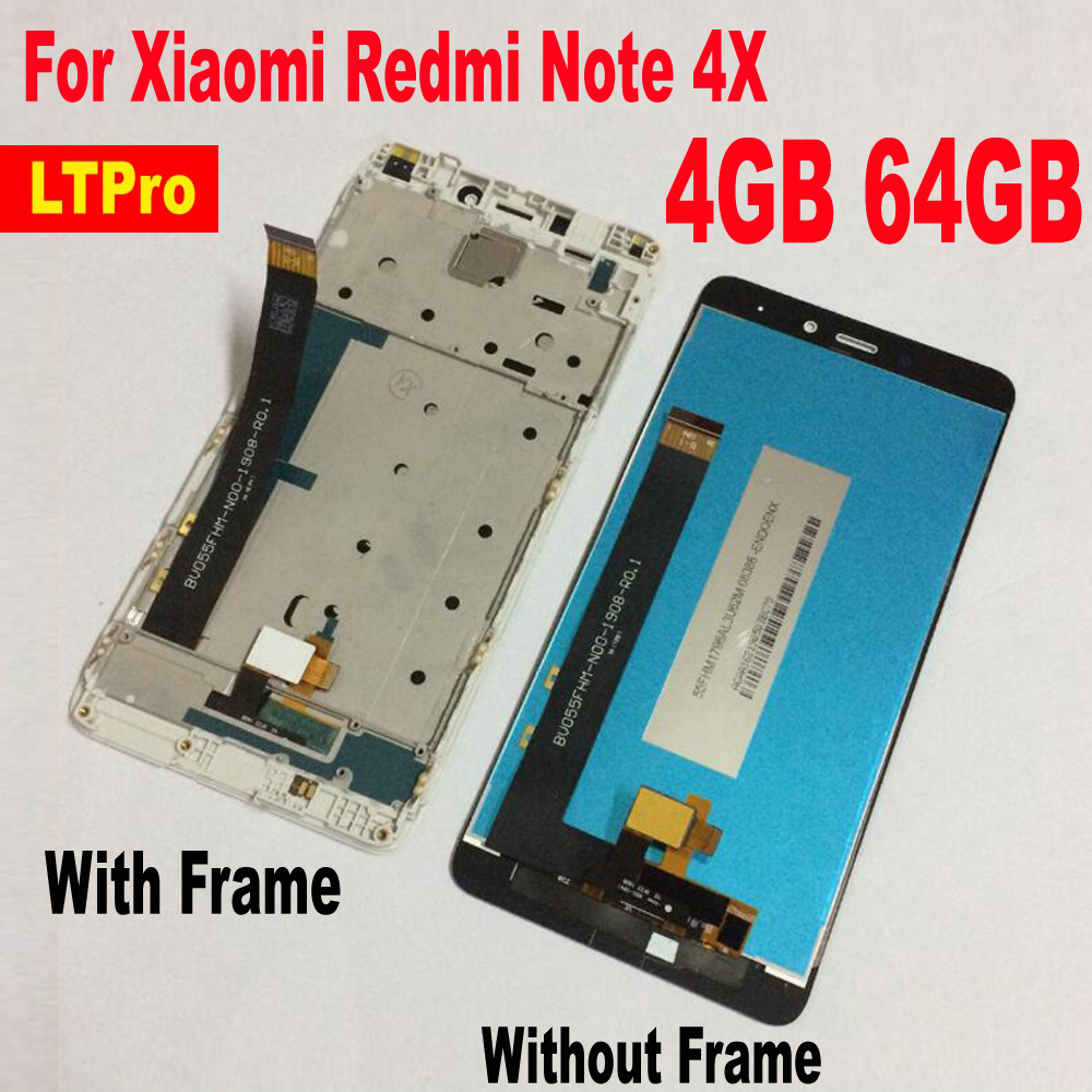 Good Work LCD Display Panel Touch Screen Digitizer Assembly with frame For Xiaomi Redmi Note 4X Pro 4GB 64GB MTK Helio X20 PhoneGood Work LCD Display Panel Touch Screen Digitizer Assembly with frame For Xiaomi Redmi Note 4X Pro 4GB 64GB MTK Helio X20 Phone