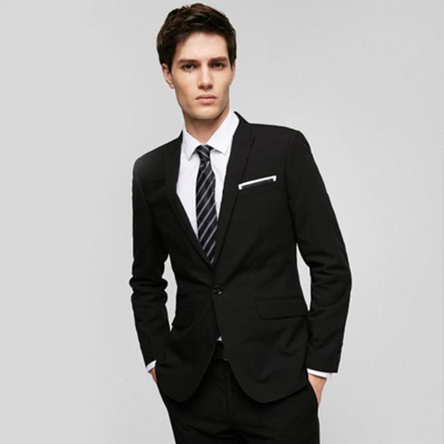 Vestito Matrimonio Uomo Nero : Nero e blu abiti da uomo giacca su misura mens smoking di cerimonia