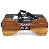 Klasik Hollow Ahşap Bow Kravatlar için Mens Düğün Takımları Ahşap Bow Tie Kelebek Şekli Bowknots Gravatas İnce Cravat Takı FT170