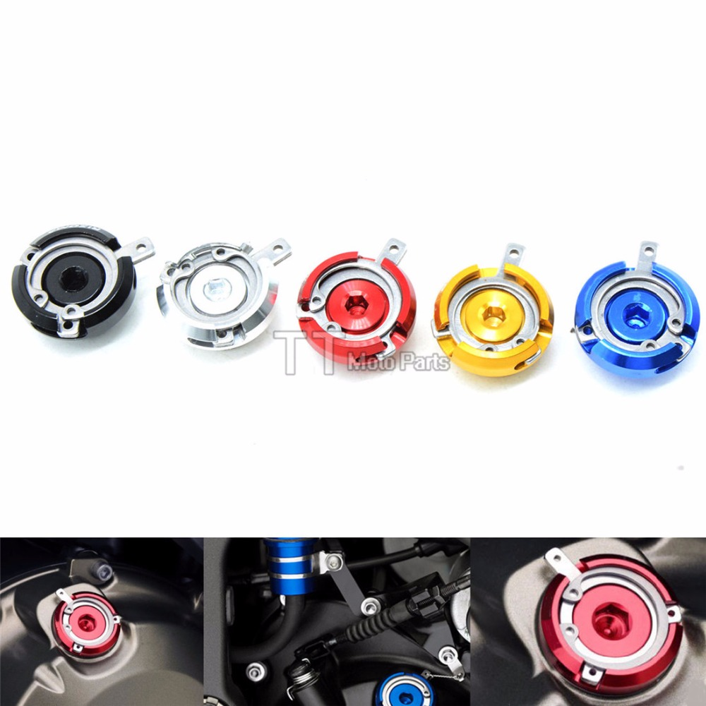5COLOR motorbike Engine Oil Filler Cap cnc motorcycle oil cup cover For honda cr250 /crf / crf 230 250/ 450/ dio fit