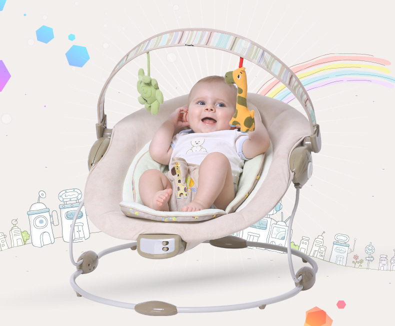 Aliexpress.com  Buy Free shipping Blue luxury baby cradle swing electric baby rocking chair chaise lounge cradle seat rotating baby bouncer swing from ...  sc 1 st  AliExpress.com & Aliexpress.com : Buy Free shipping Blue luxury baby cradle swing ... islam-shia.org
