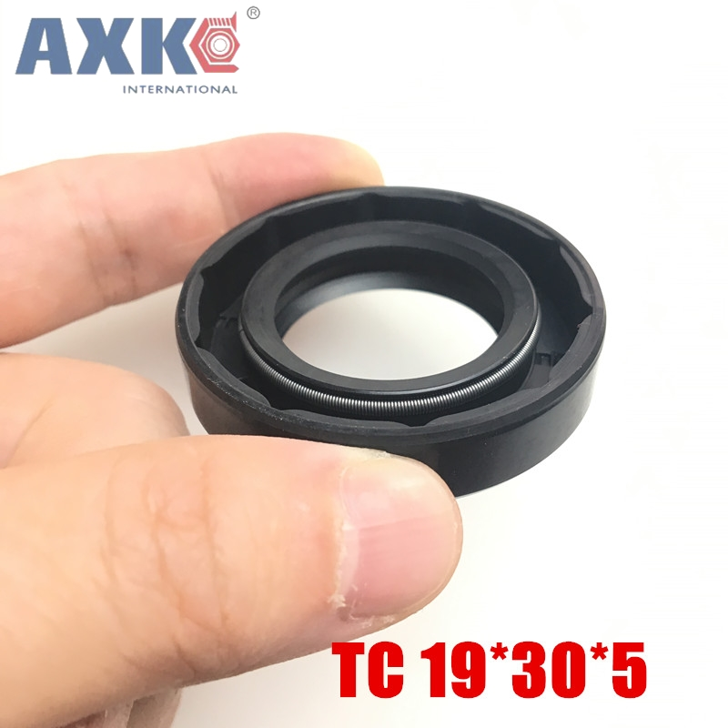 20pcs/NBR Shaft Oil Seal TC 19*30*5 Rubber Covered Double Lip With Garter Spring/consumer product 1 400 jinair 777 200er hogan korea kim aircraft model
