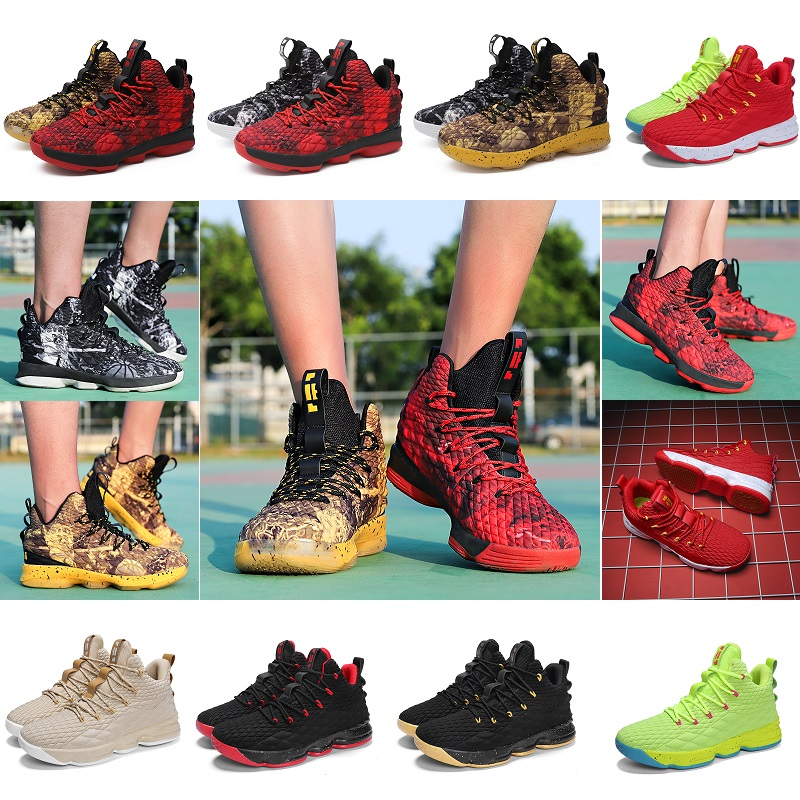 Unisex Professional Basketball Shoes Men Light Basquete Sneakers Kids Couple Sport Boots Girls Students Training Match