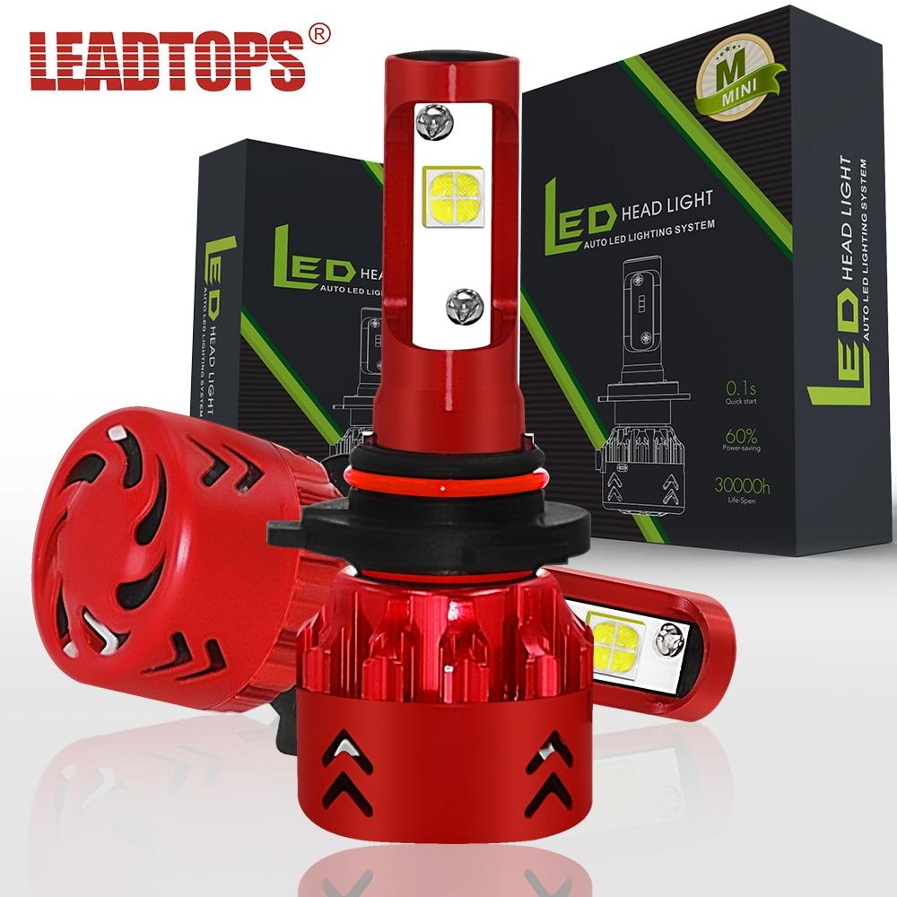 LEADTOPS 9005 LED faro de coche H1 H4 H7 H11 9006 bombilla de faro - Luces del coche - foto 1