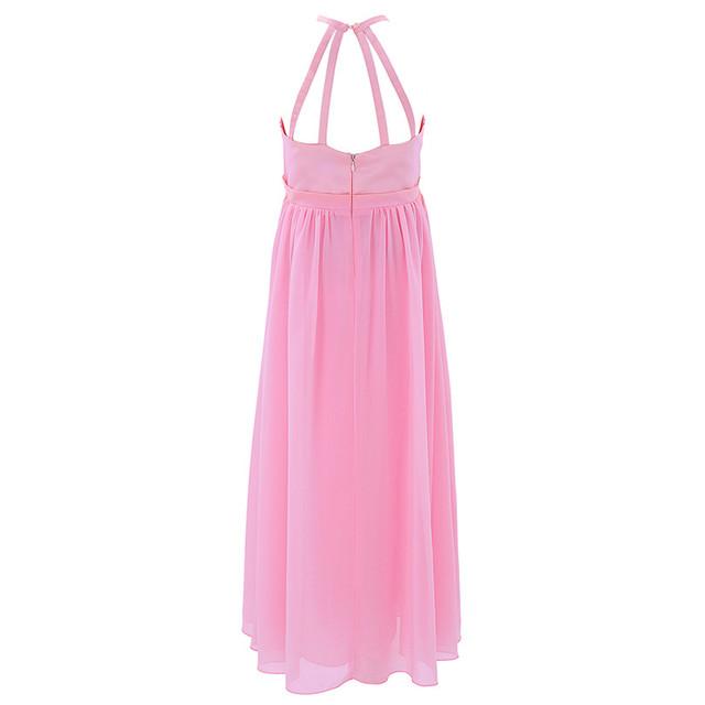 Chiffon Wedding Dresses for Girls
