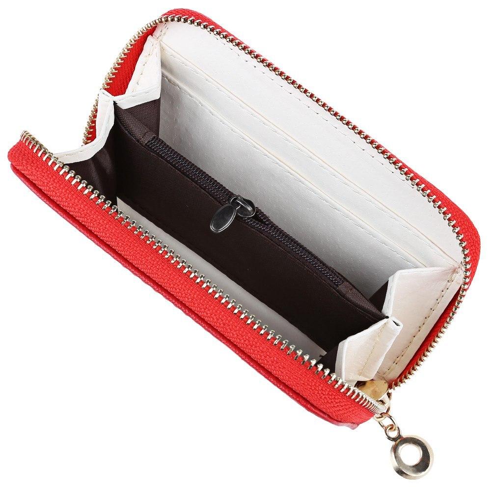 senhoras zipper curto carteira bolsa Composição : PU