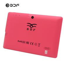 BDF Cheap 7 Inch Kids Tablet Pc Quad Core Dual Camera WiFi Tablet For Kids 512MB RAM+8GB ROM BabyPAD Android Tablet 7 8 9 10