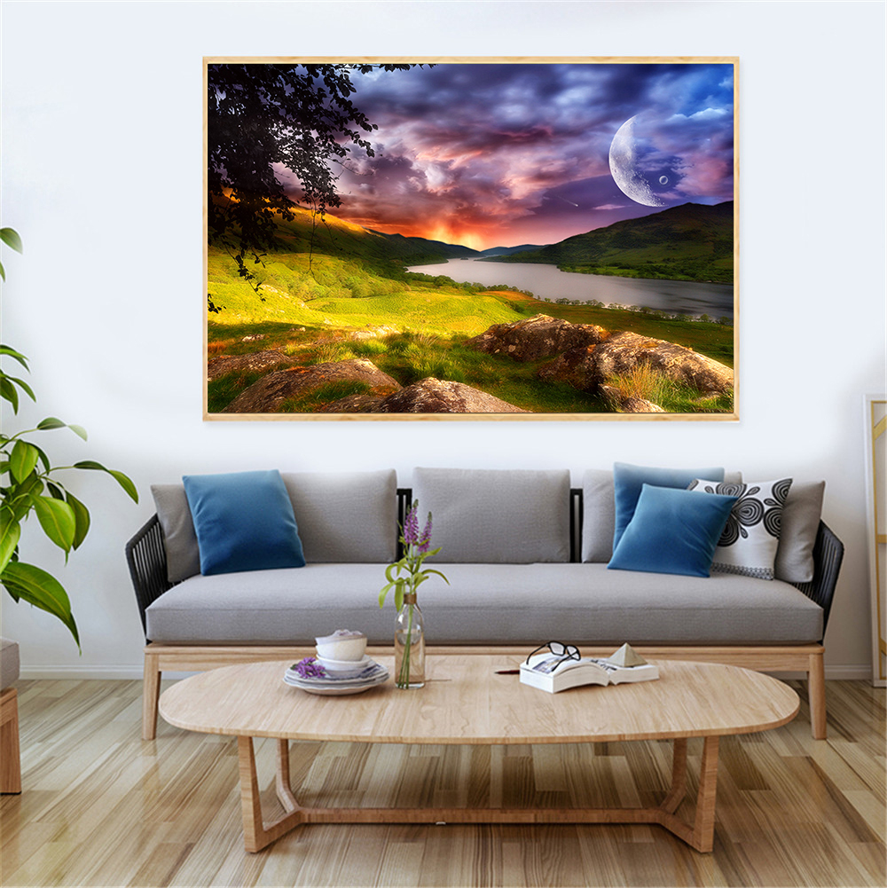 Fantasy Home Decor: Fantasy Pictures Modern Printed Home Decor Sunset On