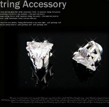 magnete orecchini senza magnetici Triangolo e orecchino orecchini Udpxg1q