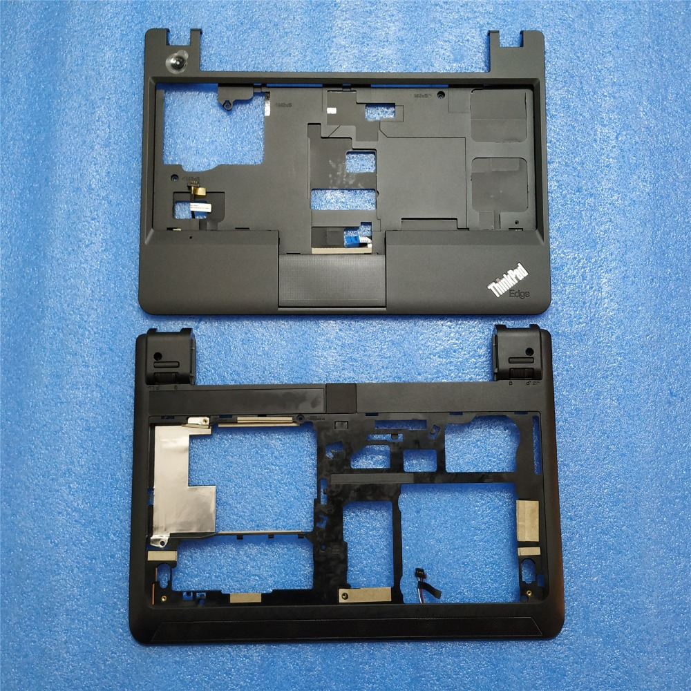 New Original Lenovo ThinkPad E130 E135 Bottom Case Base Cover+Palmrest Upper Case Keyboard Bezel with Touch 00JT246 00JT244-in Laptop Bags & Cases from Computer & Office    1