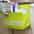 car organizer Auto Seat Back Storage Bag Multi Functional Travel Organizer Pocket Bag Hanging Backseat Organizing Box for book