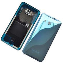 BINYEAE новый оригинальный стеклянный задний корпус для батареи HTC U11 задняя крышка корпус с объективом камеры + логотип