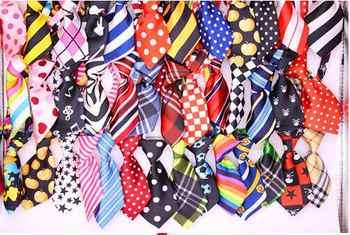 DHL darmowa wysyłka hurtownie 500 sztuk Mix 40 wzór poliester dla zwierząt domowych krawat regulowany mucha dla psa krawat pies kołnierz Grooming dostaw - DISCOUNT ITEM  10 OFF All Category