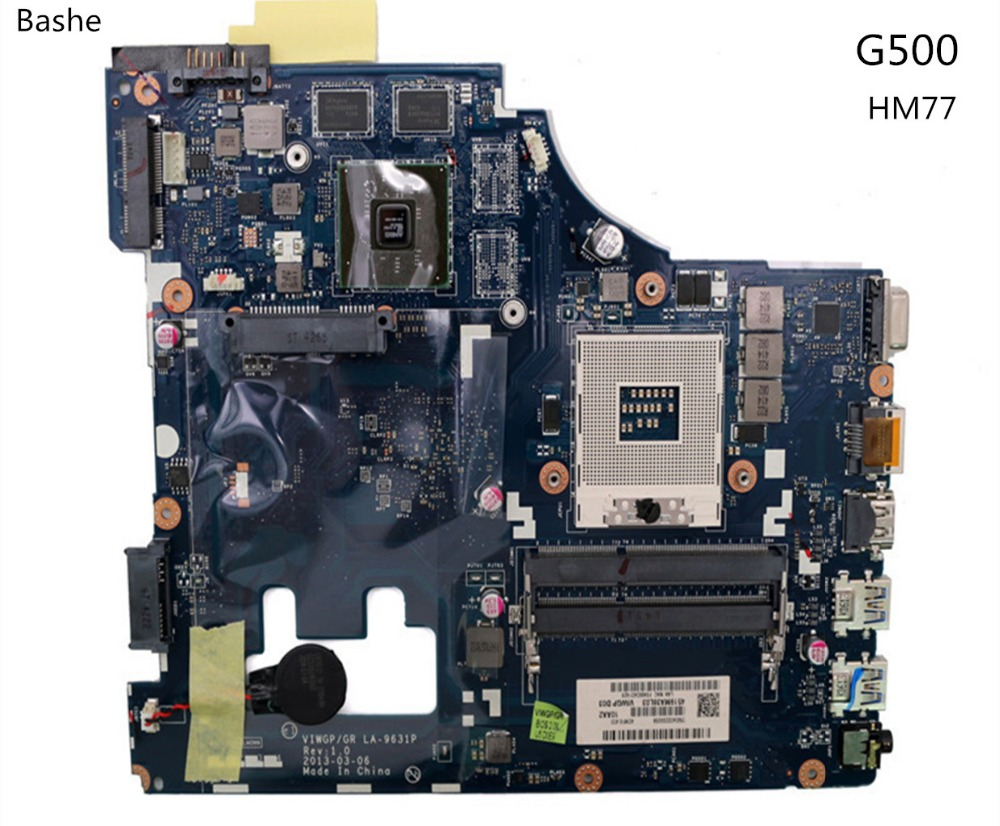 Lenovo G500 notebook motherboard LA-9631P HM77 supports I3 i5 CPU motherboard full test free delivery