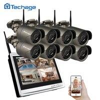 Techage 8CH 960P Wireless NVR Kit Wifi CCTV System 1 3MP Outdoor IP Camera Security Surveillance