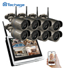 Techage 8CH 960P Wireless NVR Kit Wifi CCTV System 1 3MP Outdoor IP Camera Security Surveillance