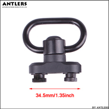 New Quick Detach Release QD Sling Swivel Scope M-lok Mount Standard 1.3 Inch Adapter for M lok Rail