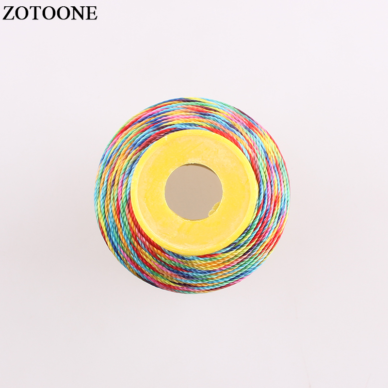 ZOTOONE 500D Polyester Bobbin Quilting-supplies Thread Filament For Embroidery Machine Sewing New Free Shipping Wholesale D