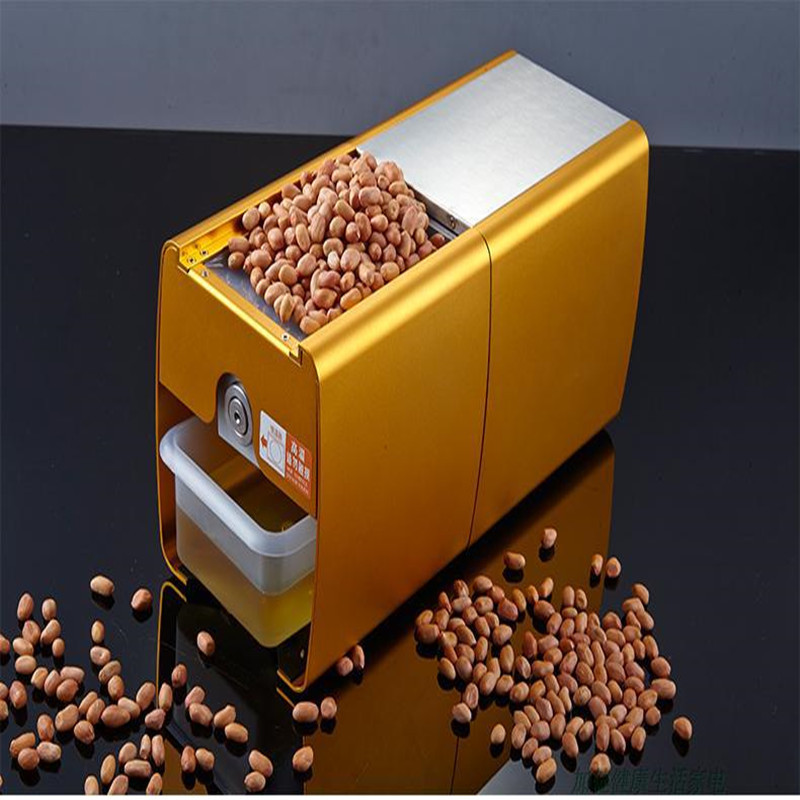 Mini Home Oil Press Machine Automatic Commercial Oil Presser for Peanuts, Sesame, Nuts, Corn, Vegetable Seeds