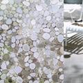 45*100 CM (W * L) Etiqueta De Vidro Janela Privacidade Fosco À Prova D' Água À Prova D' Água Vidro Da Janela Do Banheiro de Casa Película Adesiva auto Adesivo