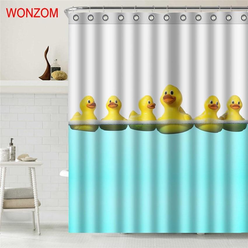 Sunnyrain 1 Piece Mandala Waterproof Shower Curtain