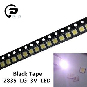 Image 5 - 2000pcs 파라 한국 LG 2835 LED SMD LED 수리 LG LCD TV 백라이트 3528 1W 3V 쿨 화이트 LATWT470RELZK