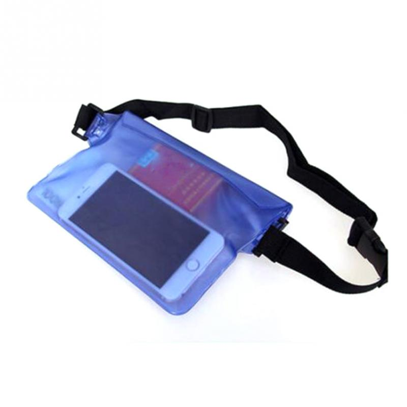Aliexpress Three Layers Waterproof Underwater Waist Bag Pack Water Beach Dry Pouch Phone Case Wallet From Reliable Packs Suppliers On