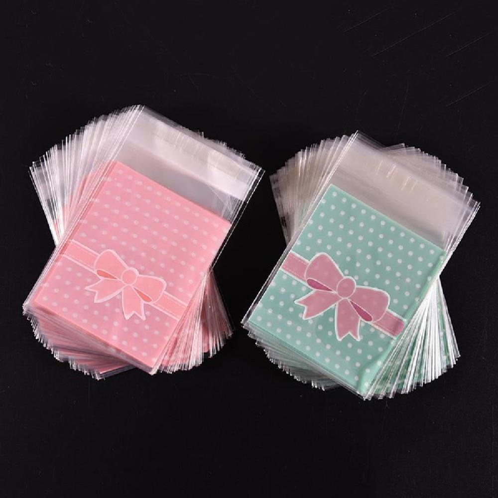 2016 100pcs bag OPP Plastic package bag Lovely Pink or ...