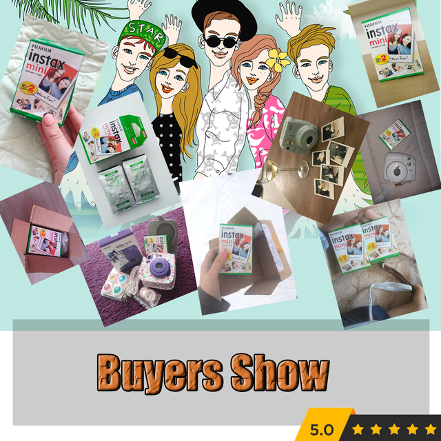 Genuine 10-100 Sheets fujifilm Instax Mini Film Photo Film Paper For Fuji Instax mini 8 7s 25 50 90 SP1 Instant Photo Film Paper