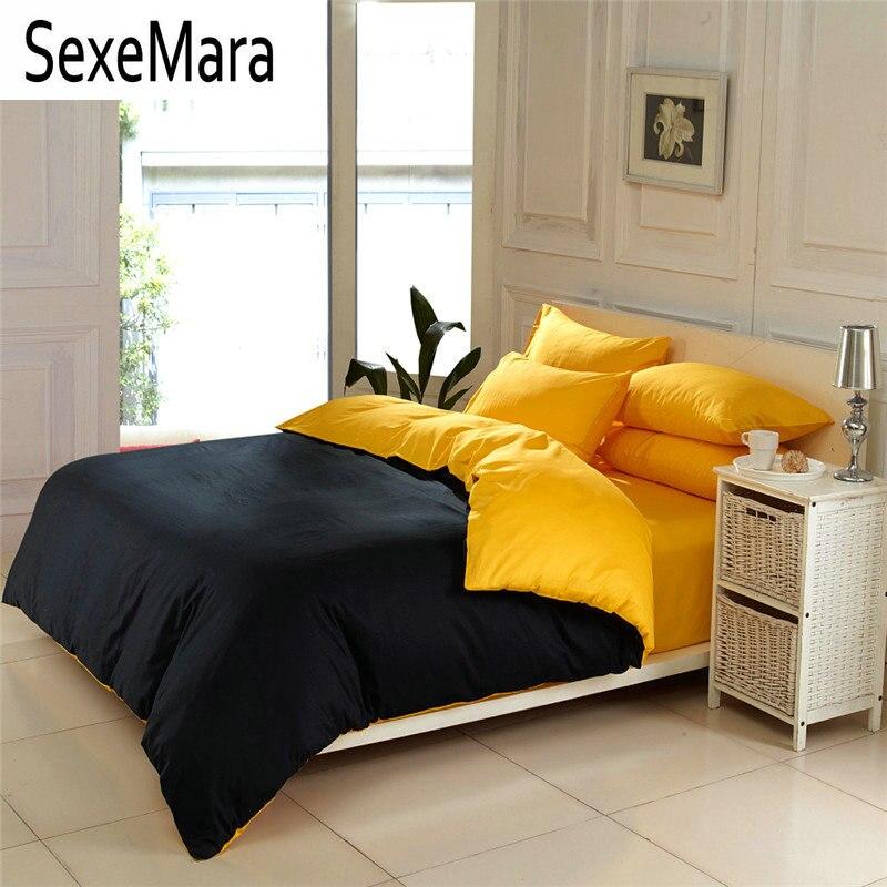 Achetez en Gros noir jaune couette en Ligne à des Grossistes noir ...