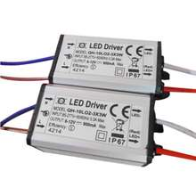 AC 85-277 V 10 W LED light Driver Power Supply Adapter IP67 350mA 900mA Untuk Daya Tinggi LED cahaya Lampu(China)