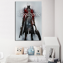 Blood Great Ones Figure Game HD Canvas Paintings For Living Room Borne Modern Wall Art Oil Painting Poster Home Decor