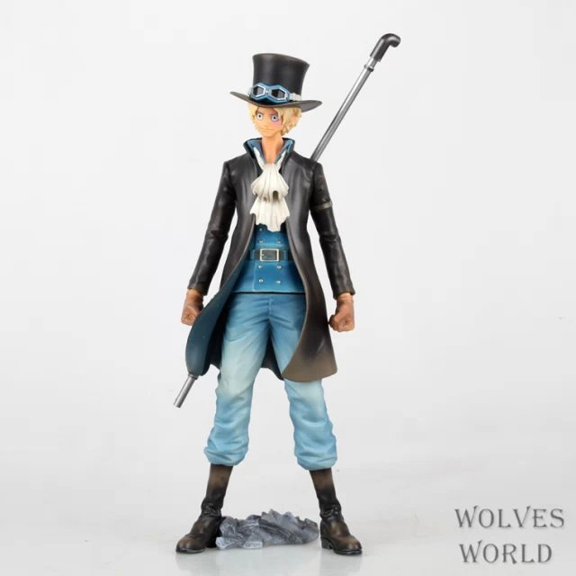 SAINTGI One Piece Japanese Anime Sabo Onepiece New World Revolutionary Army Yaki Fruit Action Figure Toys Juguete 22cm PVC Model