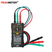 Peakmete PM5900 Motor & Phase Rotation Indicator, Three Motor Phase Rotation Indicator Sequence Voltage Current Frequency Tester