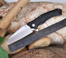 High quality Snake head XJ10 folding knife ball bearing utility tactical survival knives outdoor camping tools