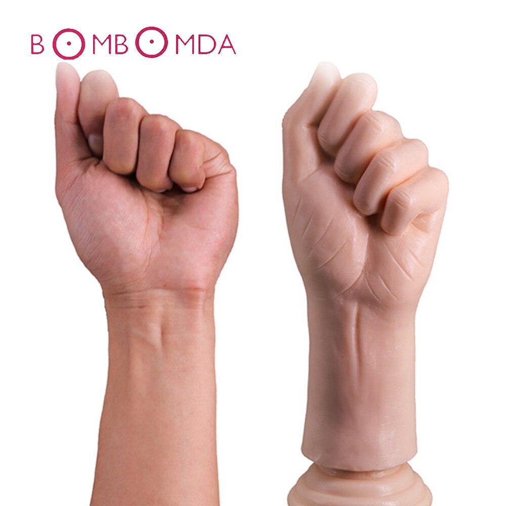 Big Hand Palm font b Dildo b font Large Anal Plug Huge Arm Fist font b