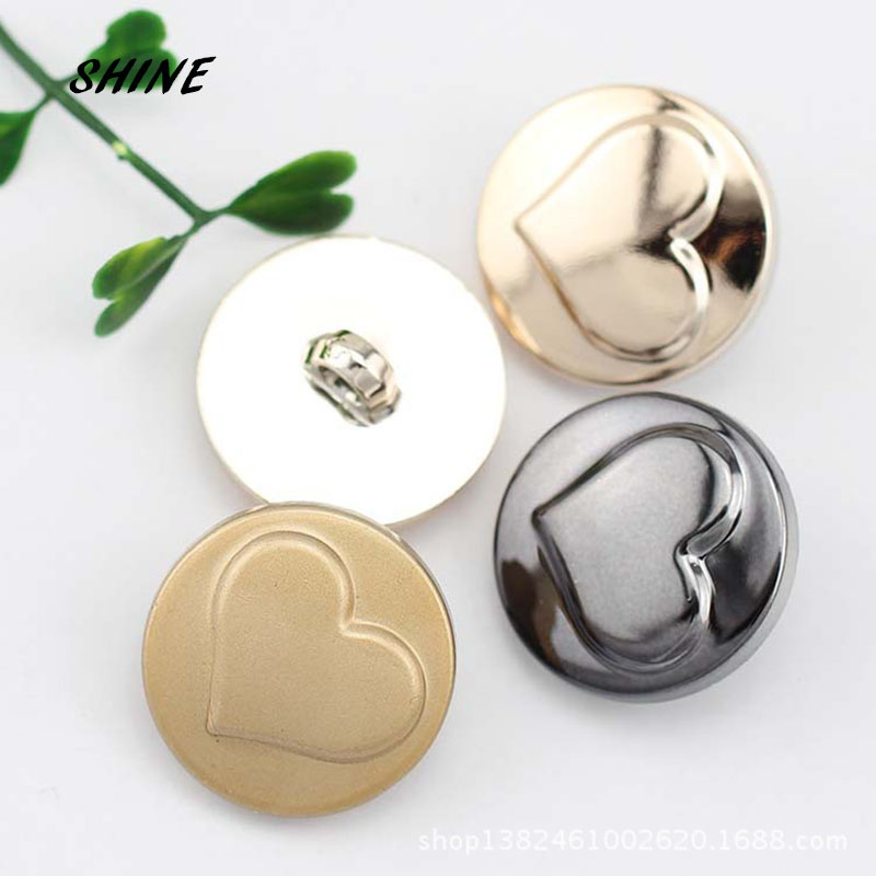 SHINE Plastic Sewing Buttons Scrapbooking Round Shank Concise Style 25mm Dia. 10 PCs Costura Botones Decorate bottoni botoes