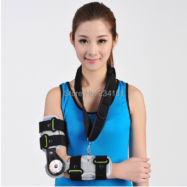 Elbow support fixed rehabilitation equipment broken arm fixed gear stroke hemiplegia rehabilitation device upper lower limbs physiotherapy rehabilitation exercise therapy bike for serious hemiplegia apoplexy stroke patient lying in bed