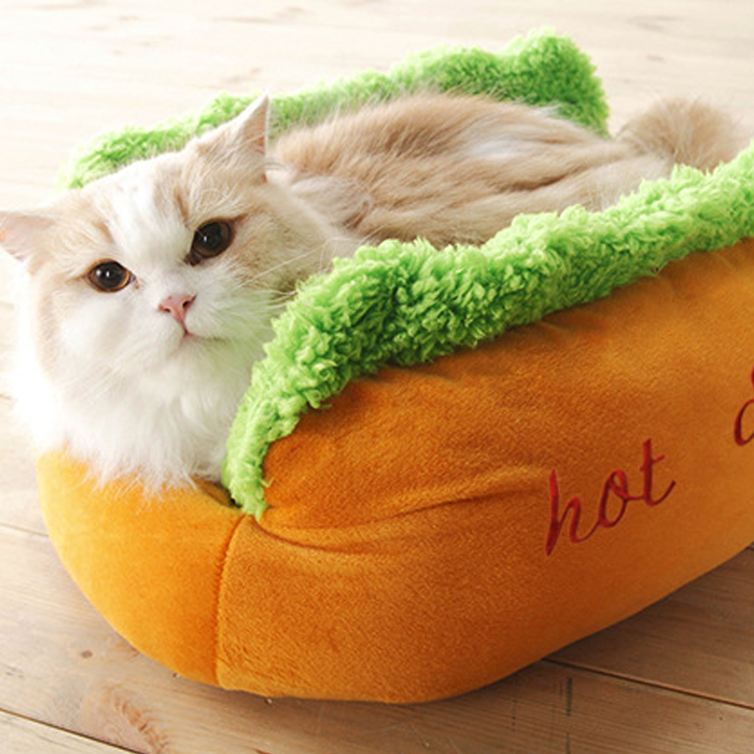Puppy Pad Warm House Hot Dog Bed Cat Pet Winter Beds Fashion Sofa Cushion Supplies Warm Dog Cat House Pet Sleeping Bag Cozy