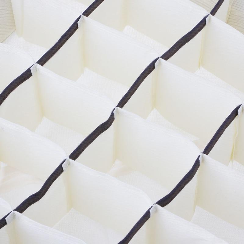 24 Cells Foldable Storage Closet Bra Socks Underwear Organizer Drawer Divider Home Organizers