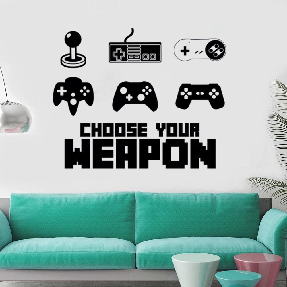 Aliexpress Com Buy Teen Funny Game Controller Wall