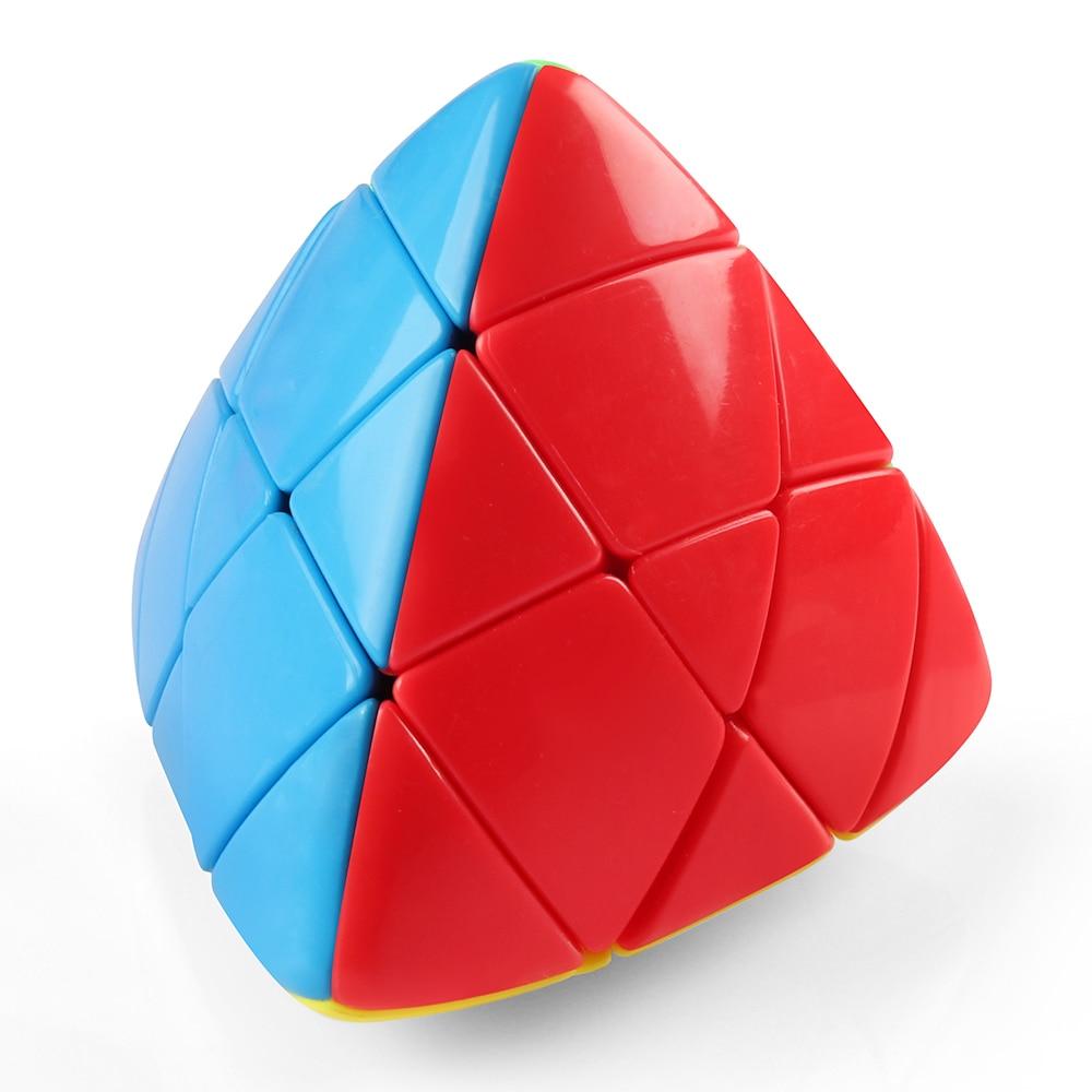 D-fantix Shengshou Mastermorphix 3x3 Cube Puzzle Cube magique sans autocollant