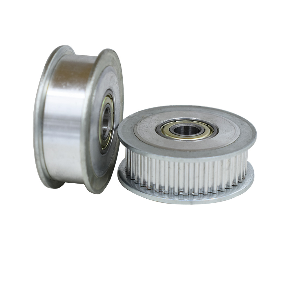 HTD3M 35T Timing Idler Pulley 11/16mm Belt Width Bearing Idler Gear Pulley With/Without Teeth5/6/7/8/10/12/15mm Bore Idle Pulley|Pulleys| |  - title=