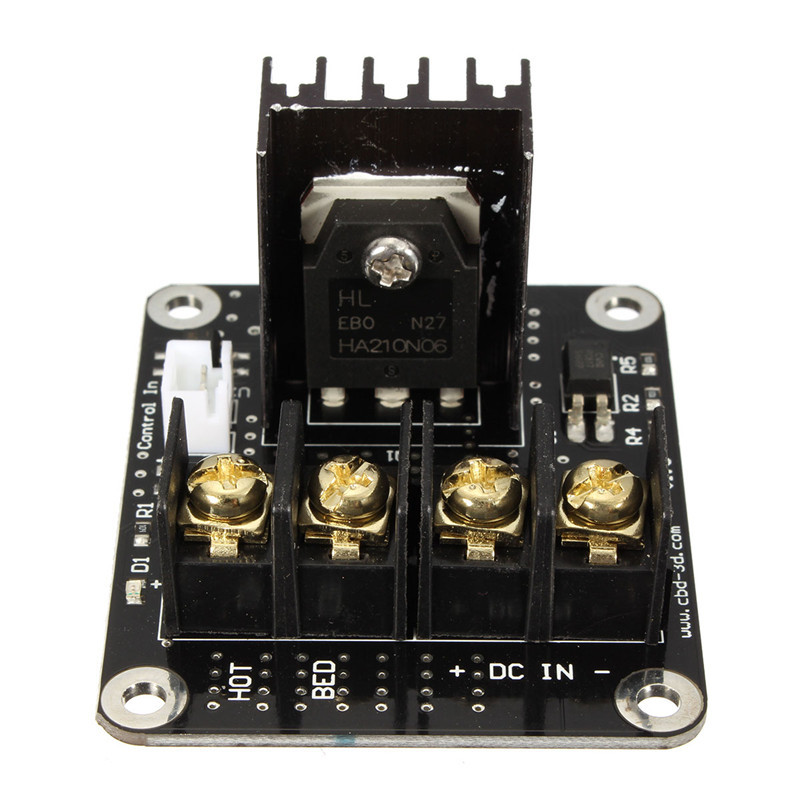 3D Printer Parts General Add-on Heated Bed Power Expansion Module High Power Module expansion board for 3D Printer general motors module 24243086