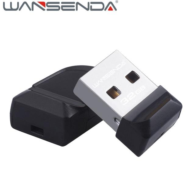 100% full capacity Wansenda USB Flash Drive Super tiny Pen drive 64GB 32GB 16GB 8GB 4GB Pendrive Waterproof USB Memory Stick 1