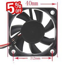Бросился Контроллер Вентилятора Компьютера Охладитель Воды 1 шт. Черный 3pin 12 В 4010 4 см 40 мм Безщеточный Для Вентилятора Pc Охлаждения Cooler
