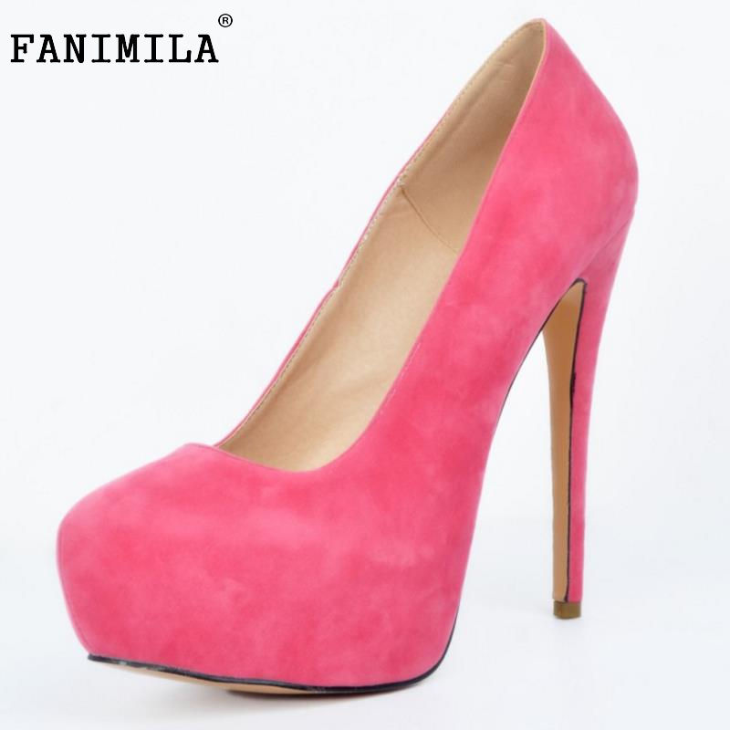 Hot New Sexy Women Pumps Round Toe Thin High Heels Women Shoes Simple Fine Heels Women's Singles Shoes Footwear Size 34-47 taoffen women high heels shoes women thin heeled pumps round toe shoes women platform weeding party sexy footwear size 34 39