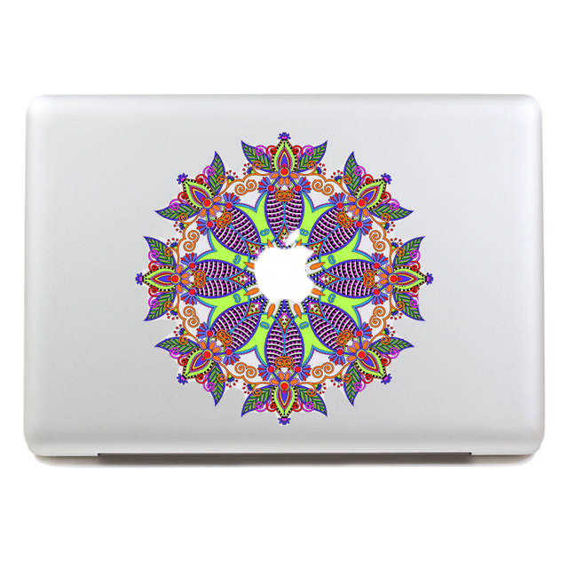 Съемный водонепроницаемый красивой рисунок планшет наклейки и портативный компьютер наклейка для ноутбука, 260 x 270 мм
